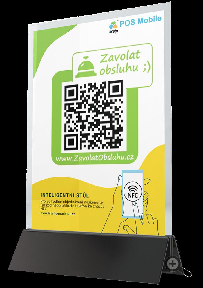 Zkusit iKelp POS Mobile QR kód